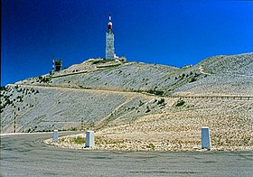Image illustrative de l'article Cyclisme au mont Ventoux