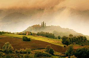 Montechino - Montechino in the Val Riglio