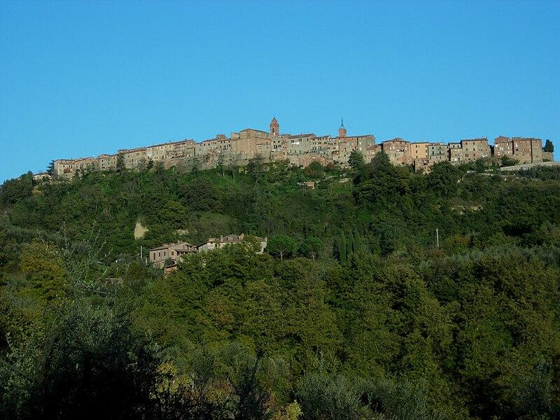 Monteleone d'Orvieto - Kilátás