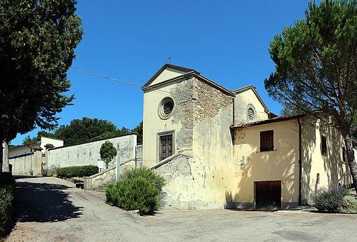 Monterchi, chiesa di santa maria a momentana