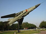 Monument of Indian MiG-23MF in Gandhinagar, 2007