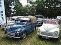 Morris Minors at Darling Buds Classic Car Show (geograph 1957447).jpg