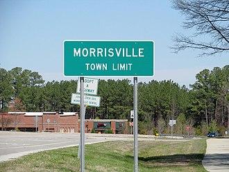 Morrisville, North Carolina - Image: Morrisville, North Carolina (2014)
