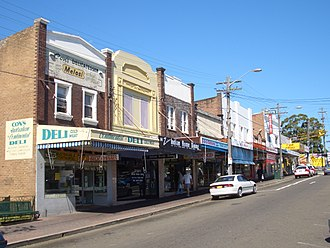 Mortdale, New South Wales - Morts Road, Mortdale