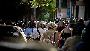 Moto.Traffic.PhnomPenh