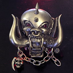 Motorhead Snaggletooth Belt Buckle
