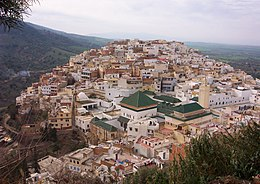 Moulay Driss Zerhoun – Veduta