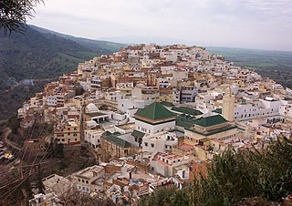 Moulay Idriss Zerhoun Place in Fès-Meknès, Morocco