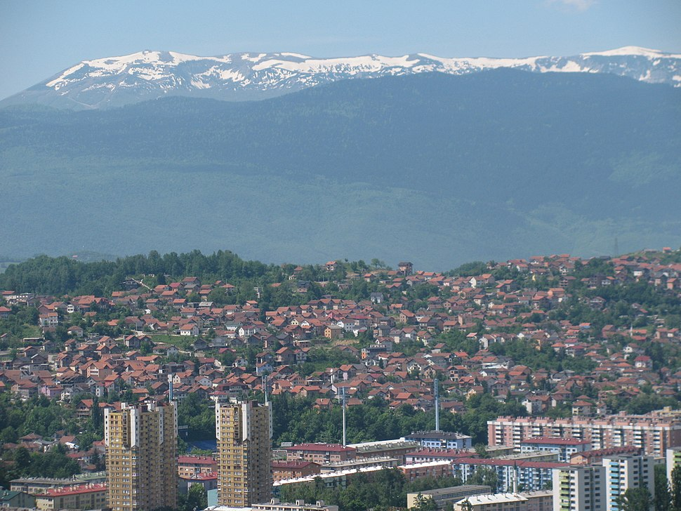 Mount Bjelašnica (snowy peaks)