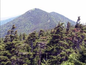 Southern Sixers - Mount Craig, the second highest peak in the Appalachians, as viewed from nearby Mount Mitchell.