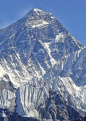 1975 British Mount Everest Southwest Face expedition - Image: Mount Everest Southwest Face, November 2012