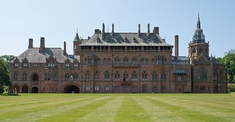 Mount Stuart House - Image: Mount Stuart House, Isle of Bute east view