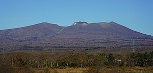 Mount Tarumae seen from the SSE.jpg