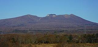 Mount Tarumae Stratovolcano on the island of Hokkaido, Japan