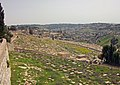 Mount of Olives Jewish Cemetery from Dominus Flevit Church.jpg