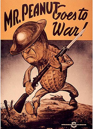 Mr Peanut Goes to War!