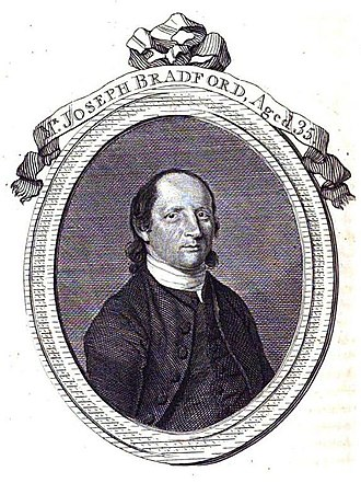 Joseph Bradford (preacher) - Joseph Bradford  Arminian Magazine April 1783