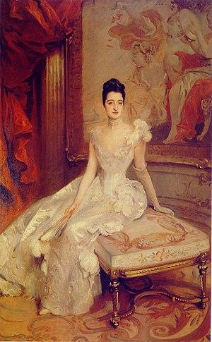 Florence Adele Vanderbilt Twombly - Mrs. Hamilton McKown Twombly by John Singer Sargent