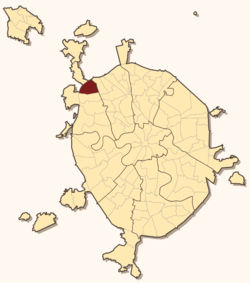 Severnoye Tushino縣 ê uī-tì