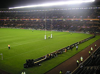 Murrayfield Stadium - Image: Murrayfield Rugby World Cup