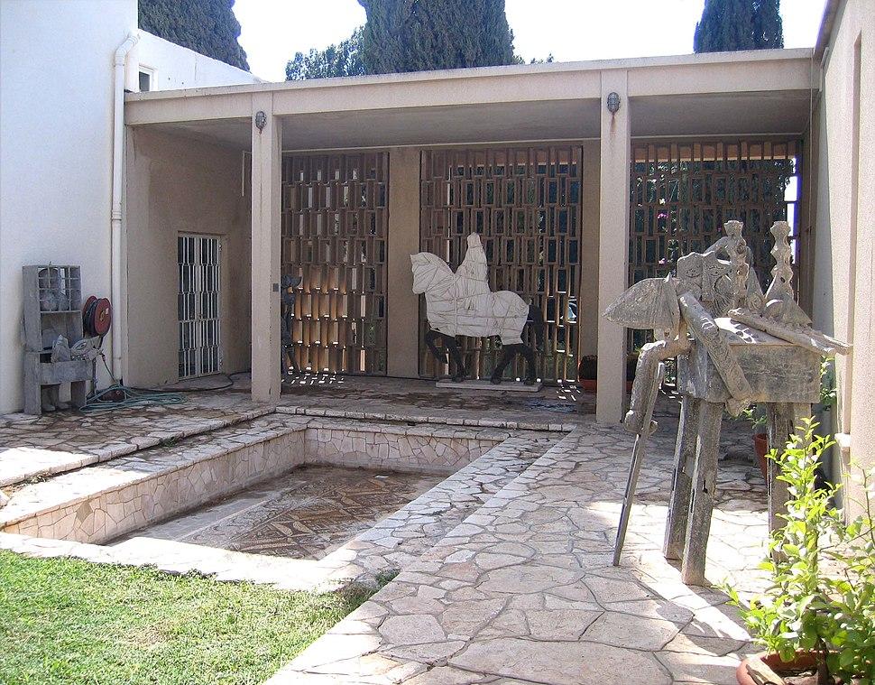 Museum of Art, Ein Harod patio