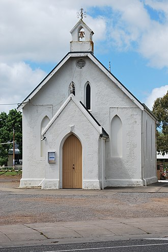 Myponga, South Australia - Anglican church