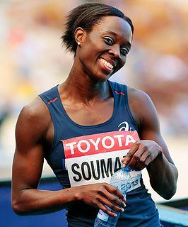 Myriam Soumaré French sprinter