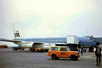 Price floor - A Boeing 707 at JFK airport in 1970. During the mid-1960s, airfares had a regulated price floor that made flying twice the cost of the 2010s, due to the ending of price controls in 1978.