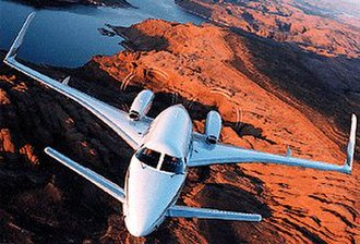 Stabilizer (aeronautics) - The canard configuration of the Beechcraft Starship