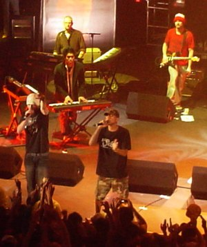 N.E.R.D - N.E.R.D performing at a United Kingdom concert in April 2003