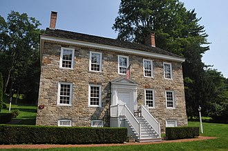 New Hampton, New Jersey - Henry Dusenbery Stone Mansion House