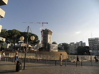 Eleftheria square - Image: NICOSIA, 11 AUGUST, 2011 133