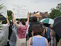 NOLA BP Oil Flood Protest brollys Priceless.JPG