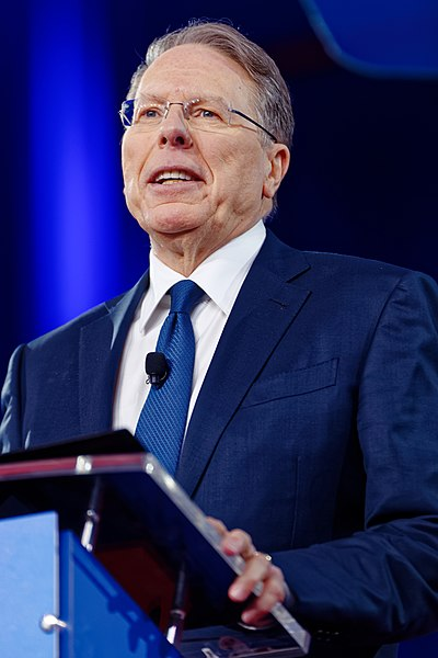File:NRA Wayne LaPierre at CPAC 2017 on February 24th 2017 by Michael Vadon 06.jpg