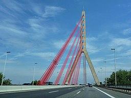 Fleher Brücke in Düsseldorf