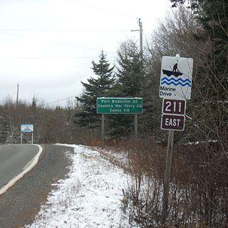Nova Scotia Route 211