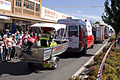 NSW Police, ASNSW and FRNSW vehicles in the SunRice Festival parade in Pine Ave (3).jpg
