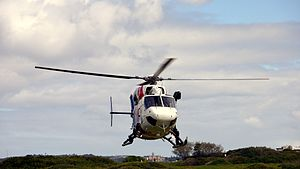 NSW Police Air Wing PolAir 5-NSW Fire ^ Rescue Fire 1 Kawasaki BK-117 B2 - Flickr - Highway Patrol Images.jpg