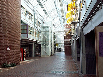 Dragvoll - Internal view of the Dragvoll campus