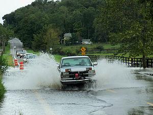 Muddy Kill - Image: NY 17K flooding at Muddy Kill after Hurricane Irene