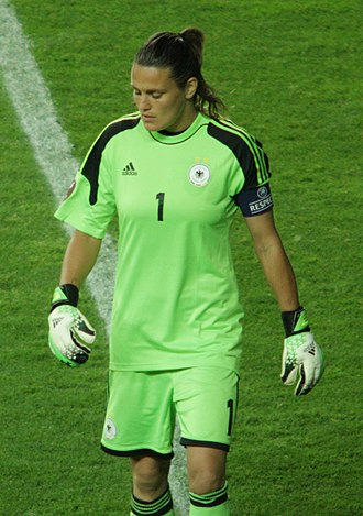 Nadine Angerer - Captaining Germany at Euro 2013