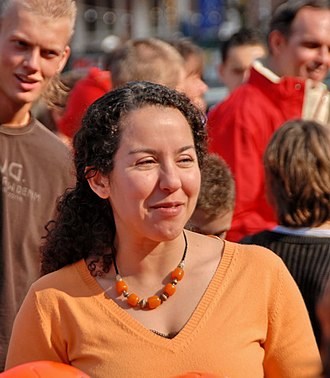 Members of the House of Representatives of the Netherlands for GreenLeft, 1989–present - Image: Naima Azough