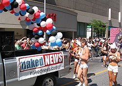 Naked News at Toronto Pride Parade 2007.jpg