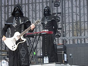 Ghost (Swedish band) - Two Nameless Ghouls at the 2013 Coachella Festival
