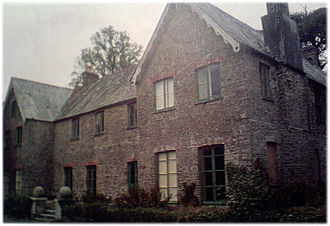 Cornish surnames - Nanskeval house at St Mawgan in Pydar, Cornwall. A possible location whence the surname originated