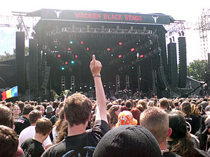 Napalm Death at Wacken 2007