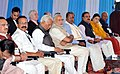 Narendra Modi at the 21st International Conference on Frontiers in Yoga Research and its Applications (INCOFYRA), in Bengaluru, Karnataka. The Governor of Karnataka (1).jpg