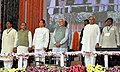Narendra Modi at the dedication ceremony of the Rourkela Steel Plant to the Nation, in Odisha. The Governor of Odisha, Shri S.C. Jamir, the Chief Minister of Odisha, Shri Naveen Patnaik (1).jpg