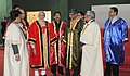 Narendra Modi at the inauguration ceremony of the 102nd Indian Science Congress 2015, in Mumbai. The Governor of Maharashtra, Shri C. Vidyasagar Rao, the Chief Minister of Maharashtra.jpg