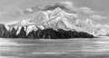 Narrative of a Voyage around the World - Mount St. Elias.png